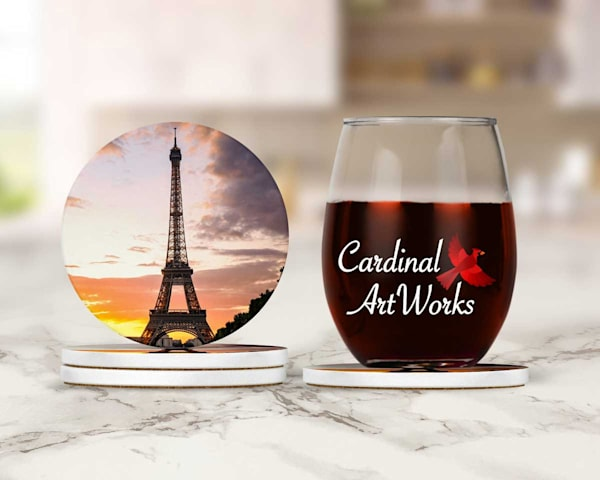 Eiffel Tower at Sunset Coasters