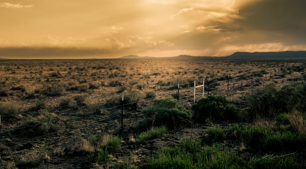 Fence Line Photography Art | Harry John Kerker Photo Artist