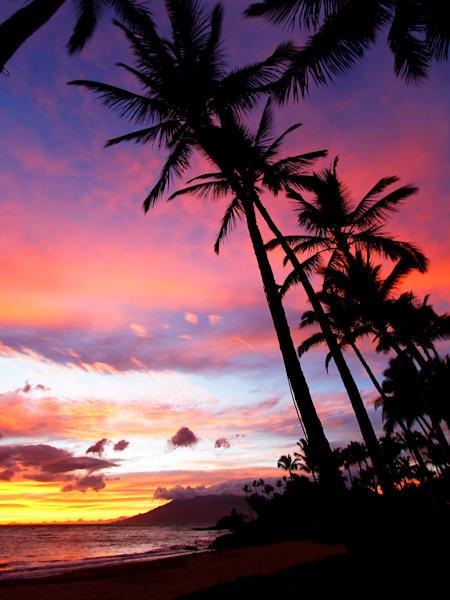 Wailea Beach Sunset | Aa021 Art | Pictures Plus