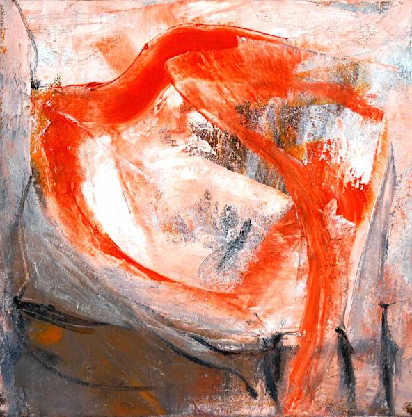 'red Bird' 20x20 Inches. Art | Art Space 349