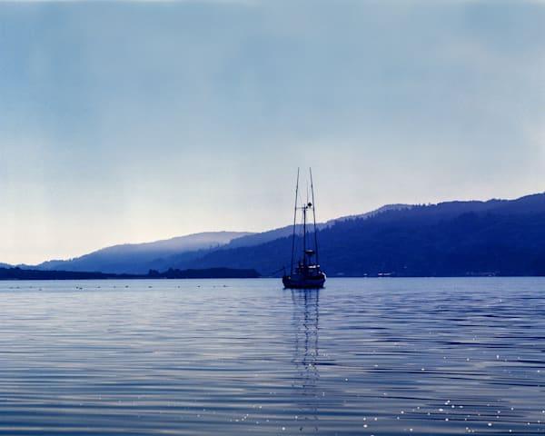 California Landscape Photography - Fishing Trawler - Tomales Bay