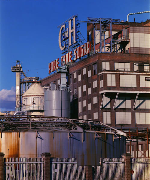 California Landscape Photography - Old C+H Sugar Factory