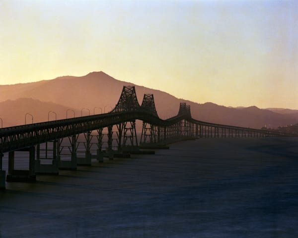 California Landscape Photography - San Rafael Bridge at Sunset