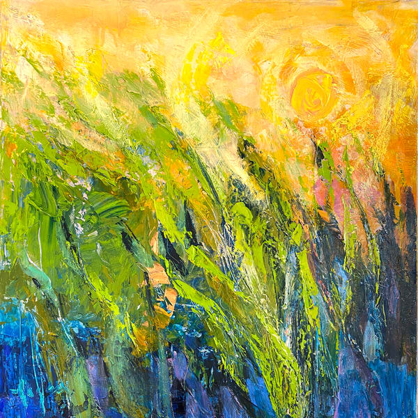 Oversize Water Paintings, Canvas Art by Dorothy Fagan