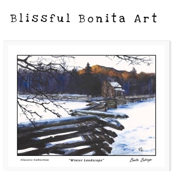 $25 Blissful Bonita Art Gift Card | Blissful Bonita Art Studio & Gallery