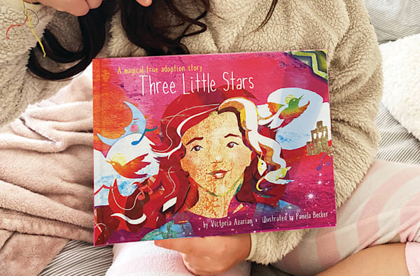 Three Little Stars | Big Vision Art + Design