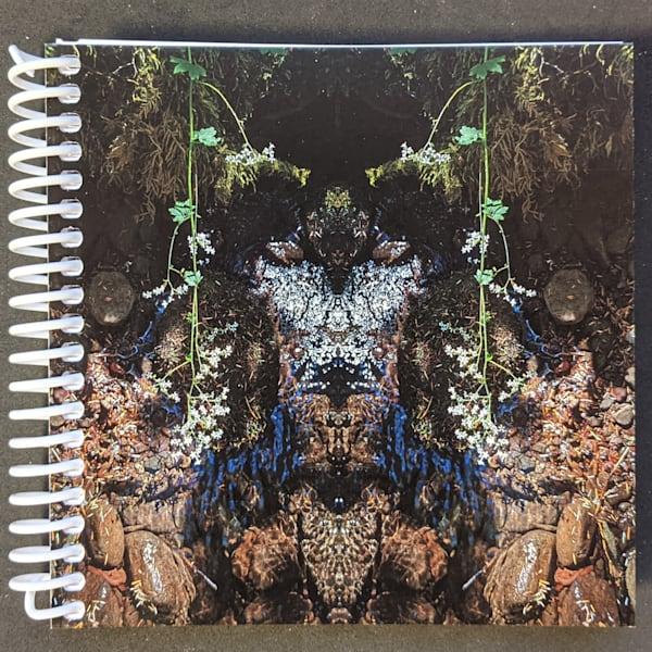 Mirror 1272_Spirit Of The Creek 5x5 Notebook