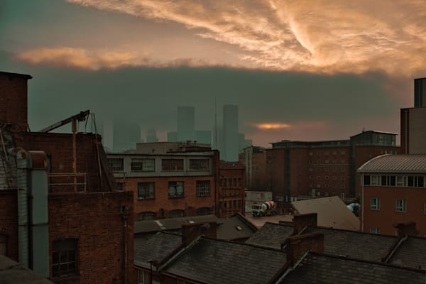 Dawn Over Docklands Art | Martin Geddes Photography