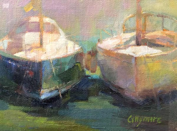 Bateaux In Villefranche Sur Mer Art | Fountainhead Gallery