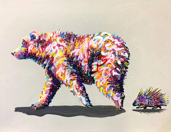 Bristol And Piccolo  Art   Kristyn Watterworth