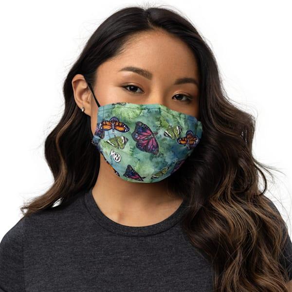 Butterflies Face Mask | Water+Ink Studios
