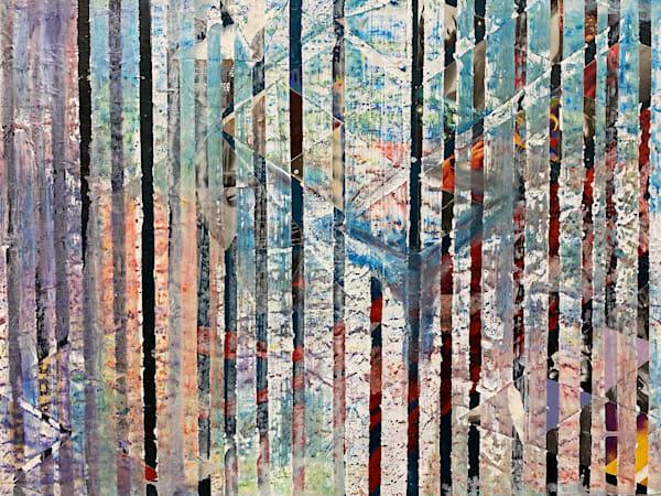 Coloured Forrest Art | Mina Vancardo