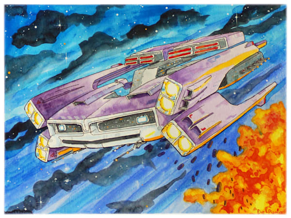 Gto (Watercolor) Art | Julian De Puma Art LLC