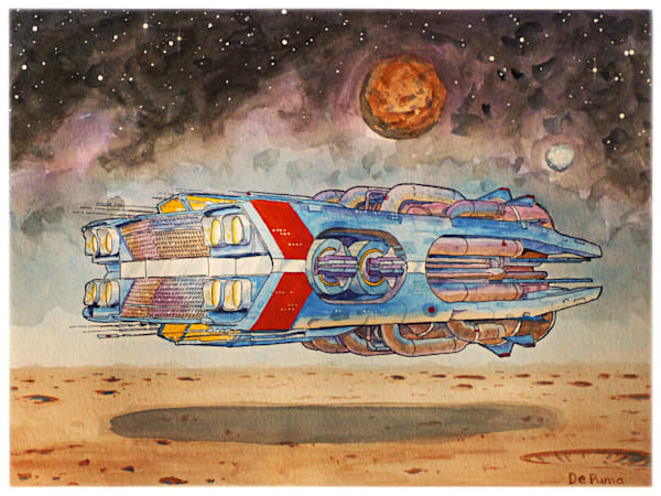 Chevelle (Watercolor) Art | Julian De Puma Art LLC