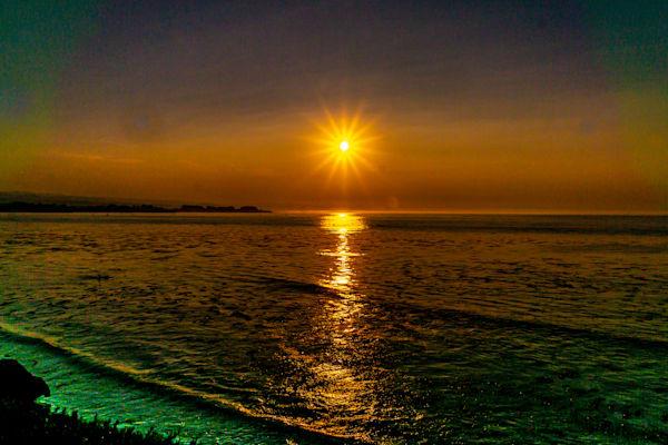 Sunbeam Sunrise Photography Art | Ron Olcott Photography