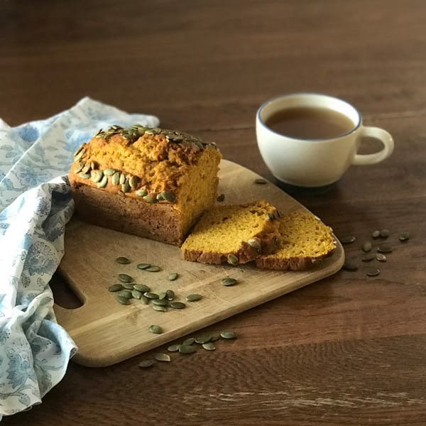 Pumpkin-bread, tea, photo, print, lifestyle-photo, still-life
