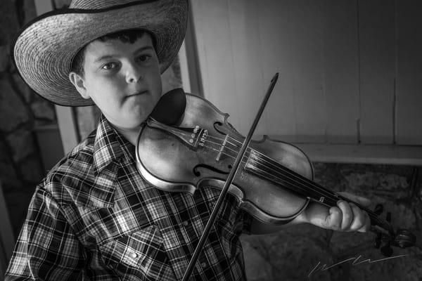 Fiddlin Boy Photography Art | Harry John Kerker Photo Artist