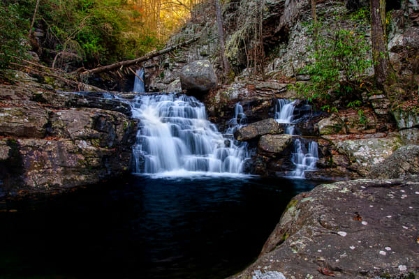 Rock Creek Cascades - Smoky Mountains waterfalls fine-art photography prints