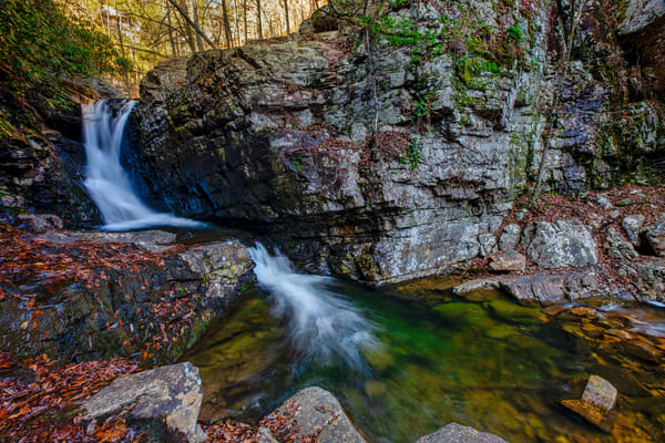 Rock Creek Waterfall - Smoky Mountains fine-art photography prints