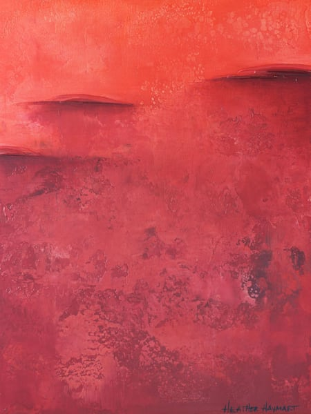 Rainbow Series Red #3 - original painting