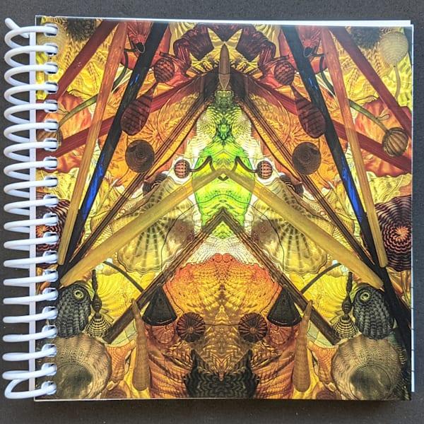 Mirror 1674_Bridge Of Glass 5x5 Notebook