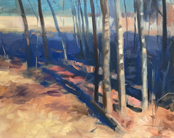 Lonely Forest (From The Open Spaces Series) Art | Adam Benet Shaw Studios