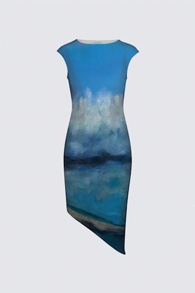 Surfer Felicia Dress designed by artist