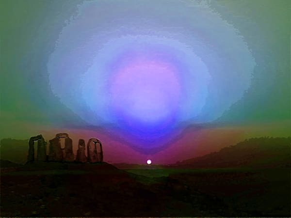 Martian Sunset Art | Don White-Art Dreamer