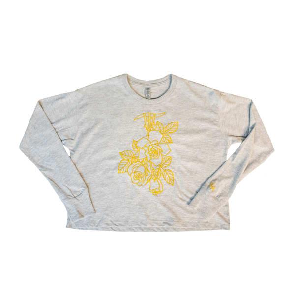 Rose Gold Ii: Concrete Rose Crop Top | Kings Avenue Tattoo
