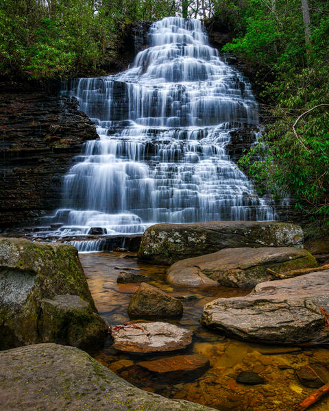 Benton Falls - Smoky Mountains waterfalls fine-art photography prints