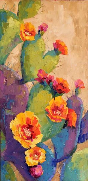 Prickly Valentine Art | Linda Star Landon Fine Art