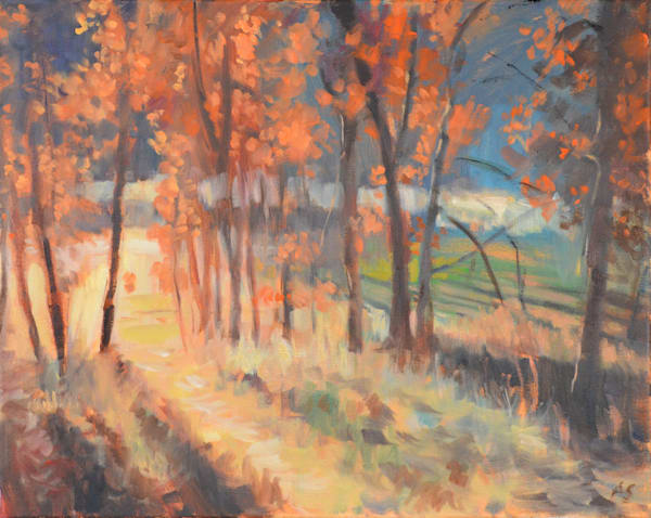 Red Rock Trail Art | Adam Benet Shaw Studios