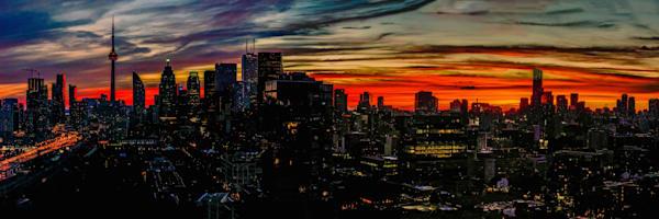 Toronto Skyline Sunset Photography Art | FocusPro Services, Inc.
