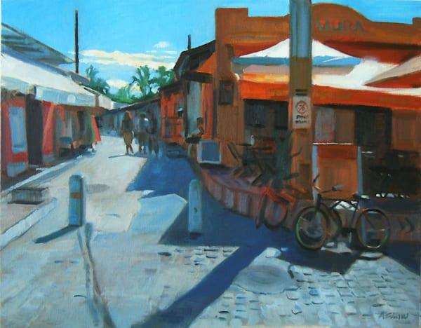 In Town (Arraial D'ajuda Brazil) Art | Adam Benet Shaw Studios