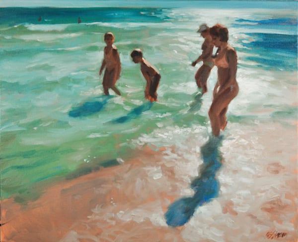 Beach Story Art | Adam Benet Shaw Studios
