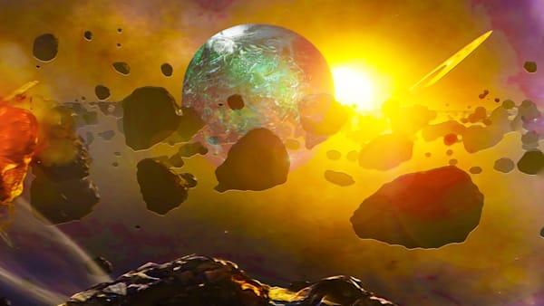 Chaos In Space Art | Don White-Art Dreamer