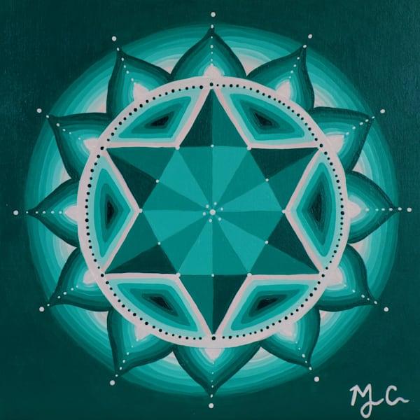 Heart Chakra Art | Monique Cudbertson Art