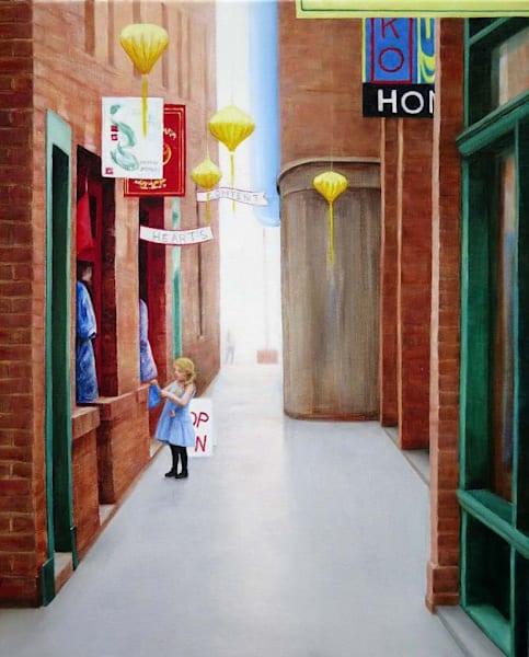 Fan Tan Alley Window Shopper Art | Fountainhead Gallery