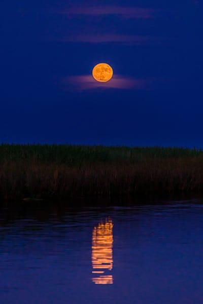Apalachicola Moon Photography Art | kramkranphoto