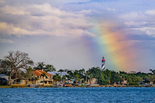 Rainbow Lighthouse Photography Art | kramkranphoto