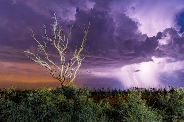 Lightning Strike Photography Art | kramkranphoto