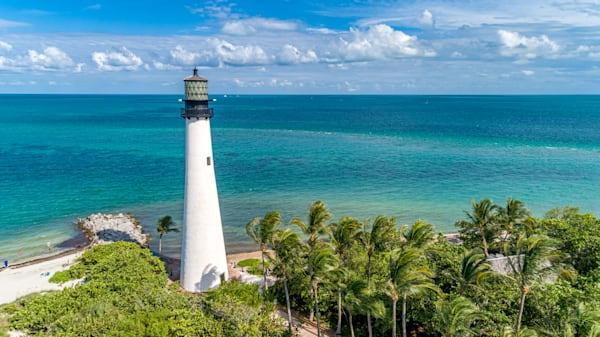 Cape Florida Light 2 Photography Art | kramkranphoto