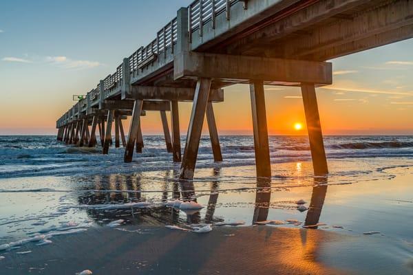 Jax Beach Sunrise Photography Art | kramkranphoto