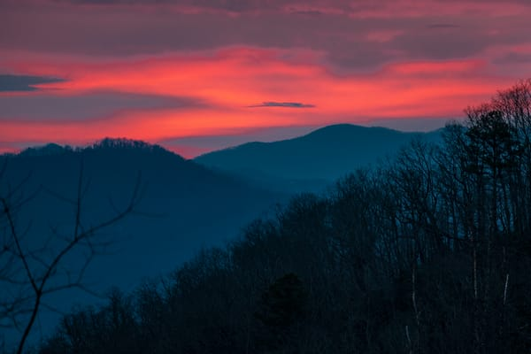 Mountain Sunrise Photography Art   kramkranphoto