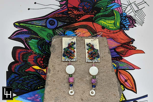 Backing Into The Future_No. 4 Earrings