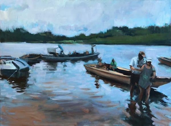 Boat Trip Brazil Art | Adam Benet Shaw Studios