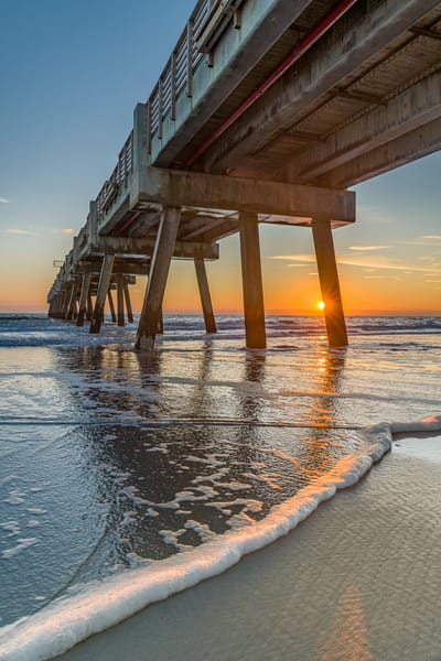 Jax Beach Sunrise Sights Photography Art | kramkranphoto