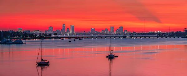 Ortega Sunrise Panoramic Photography Art | kramkranphoto