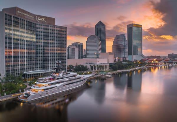 Jacksonville Skyline Photography Art | kramkranphoto