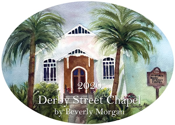 2020 Derby Street Chapel Ornament by Beverly Morgan